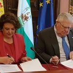 Firma de Convenio de Colaboración con el Ayuntamiento de Sevilla